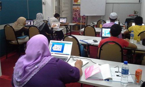 Kursus Hujung Minggu di Dewan Ainon Mohd