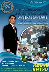 Sabah  Promosi, Kursus Powerpoint